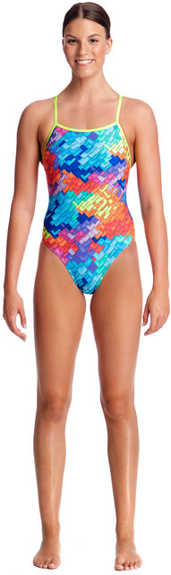 All clear, tight one piece bathing suits